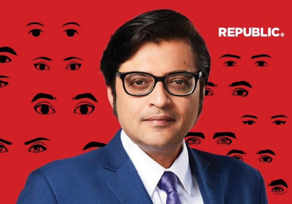 Republic TV's Arnab Goswami arrested by the Mumbai Police.